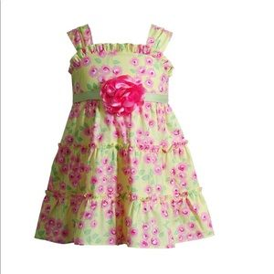 Ruffle Floral Sundress Baby Girl Youngland